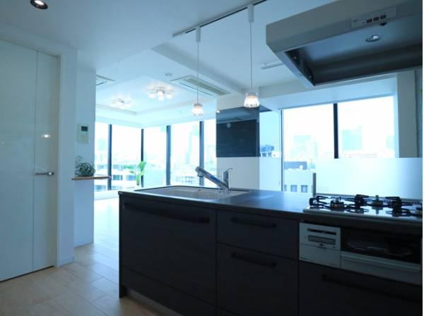 キッチンは使い勝手もさることながら、美しさも重要な要素の一つ。お部屋の雰囲気や質感と調和し、インテリアとしての魅力を高めてくれます。