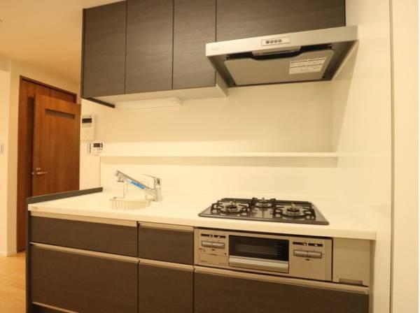 プライベートスペースを彩るインテリアとしての美と快適な日常を支える機能性と強さがひとつになったキッチン。