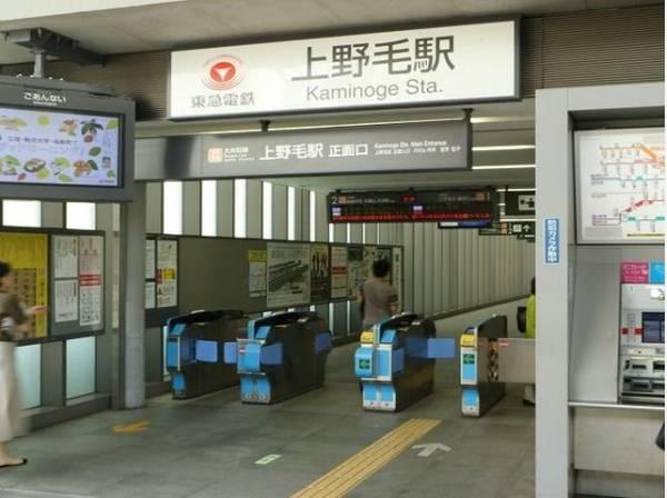 東急大井町線 上野毛駅まで750m