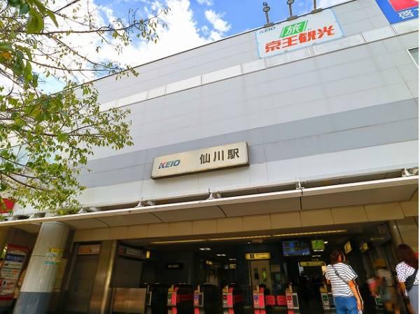 京王線 仙川駅まで1700m 駅周辺には商店街があり、スーパーやコンビニ、ドラッグストア、書店、生活用品店などが揃っていて、お買い物に困りません。駅から離れると、落ち着いた雰囲気の街並みです。