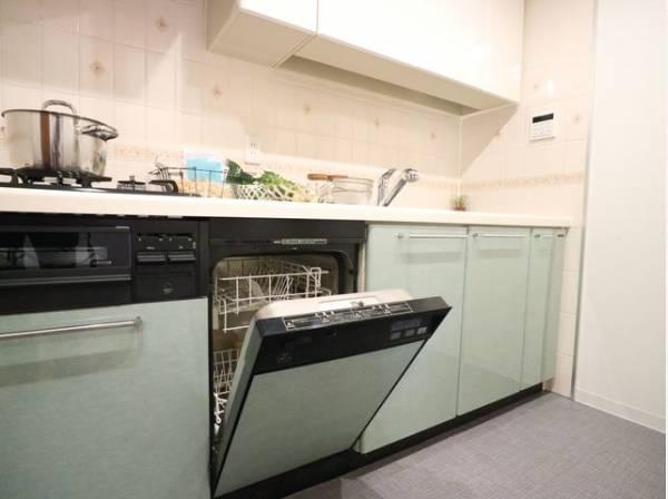 ビルトイン食洗機は作業スペースが広く使え、節約効果もあり、手洗いよりずっと清潔です。家事の時短にもなります。