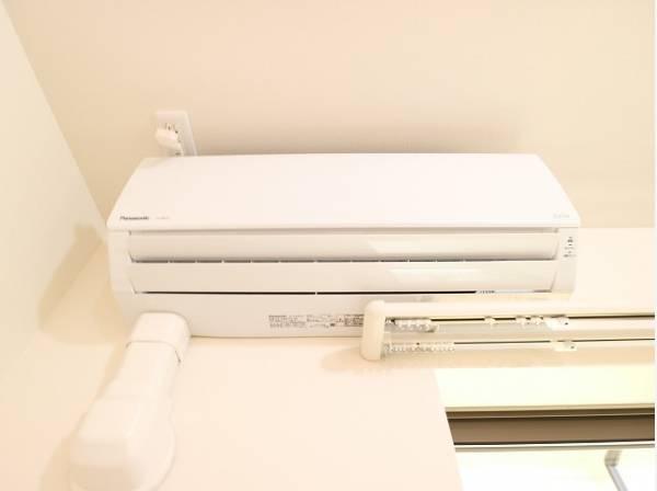 エアコン設置済み。お引越し後すぐに快適なお部屋での生活が可能です。