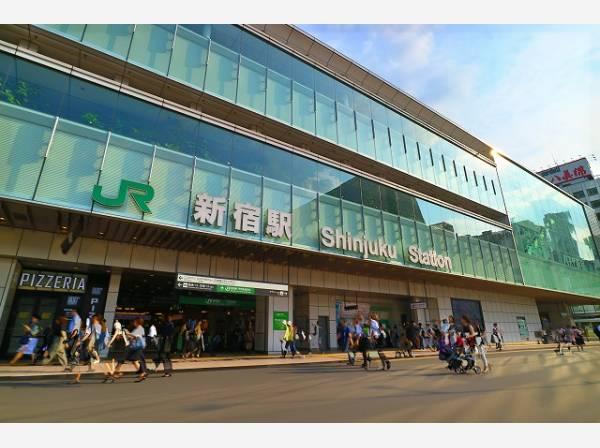 JR山手線 新宿駅まで650m