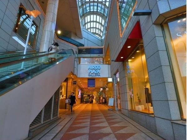 広尾プラザまで450m 広尾駅1番出口より徒歩1分!魅力あるレストラン・アパレルショップが集うショッピングモールです。