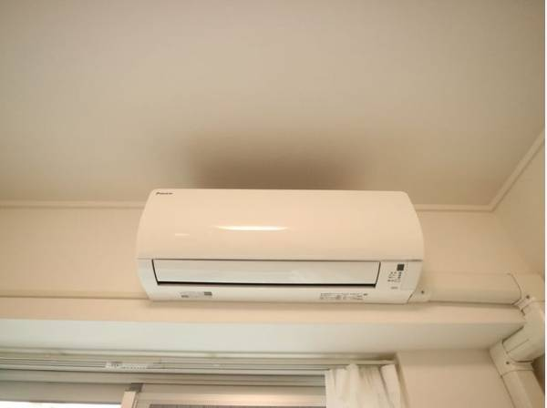 エアコン設置済み。快適な空間を造ります。