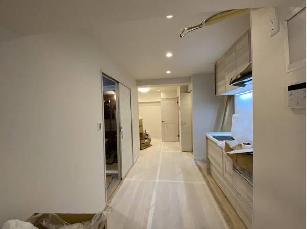 ホワイトを基調とした清潔感のある内装。心に余裕をもたらす快適住戸。