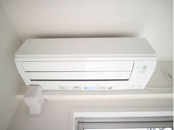 新規エアコン設置済み。お引越し後すぐに快適なお部屋での生活が可能です。