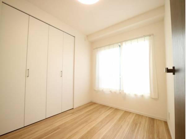 各部屋クローゼット付の3LDK。お子さまも憧れの個室が持てます。