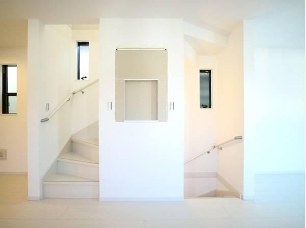 リビングイン階段で、ご家族のコミュニケーションが深まる設計となっています。