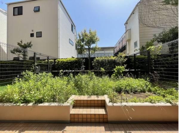 くつろぎの空間を演出する広々とした専用庭。日々の暮らしに潤いを与えてくれます。