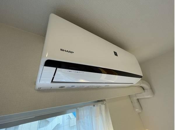 エアコン1基設置済み。入居時から快適にお過ごしいただけます。