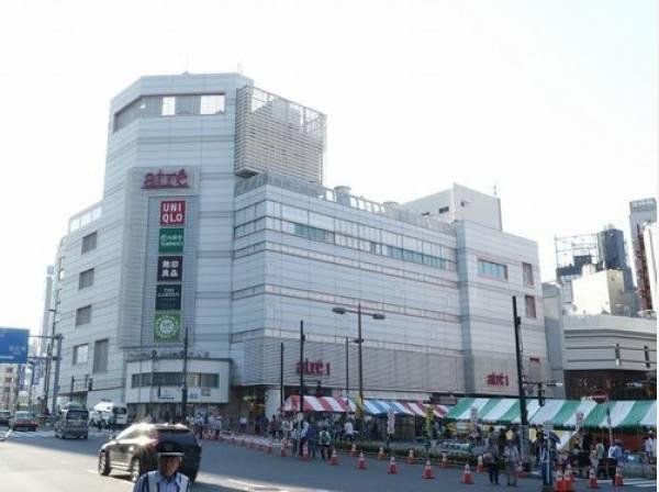 アトレ目黒まで1500m 目黒駅直結の駅ビルで、「スターバックスコーヒー」や「無印良品」、「ユニクロ」、「ニトリ」などが入った便利なショッピングビルです。
