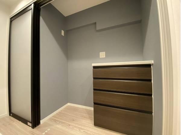 リビングにも充分な収納スペースを確保。シンプルですっきりとした暮らしが実現します。