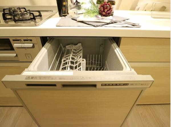 お料理は好きだけど後片付けはちょっと・・・という方におすすめ!食洗機付きです。