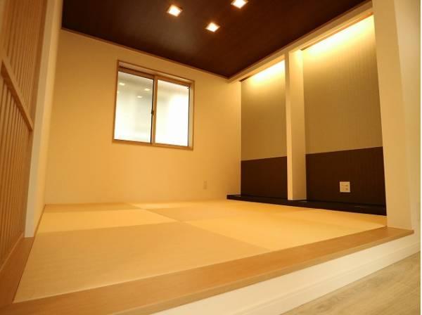 便利な和室は約4.6帖のスペースを確保。井草の香りがやすらぎを与えます。