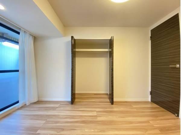 全居室収納スペースあり!荷物が多くても十分に納まります。