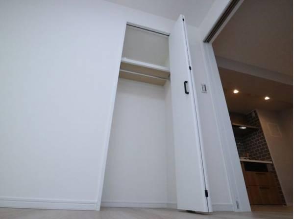 各部屋を最大限に広く使って頂ける様、全室収納付。プライベートルームはゆったりと快適に。