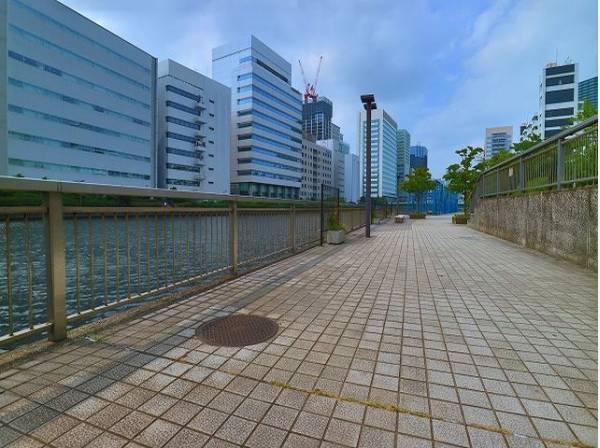 高浜運河沿緑地まで750m