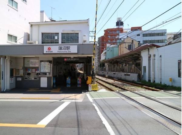 東急池上線 蓮沼駅まで1400m
