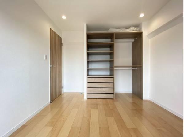 各部屋クローゼット付の3LDK。お子さまも憧れの個室が持てます。ただ暮らすだけでなく快適さを求めて。